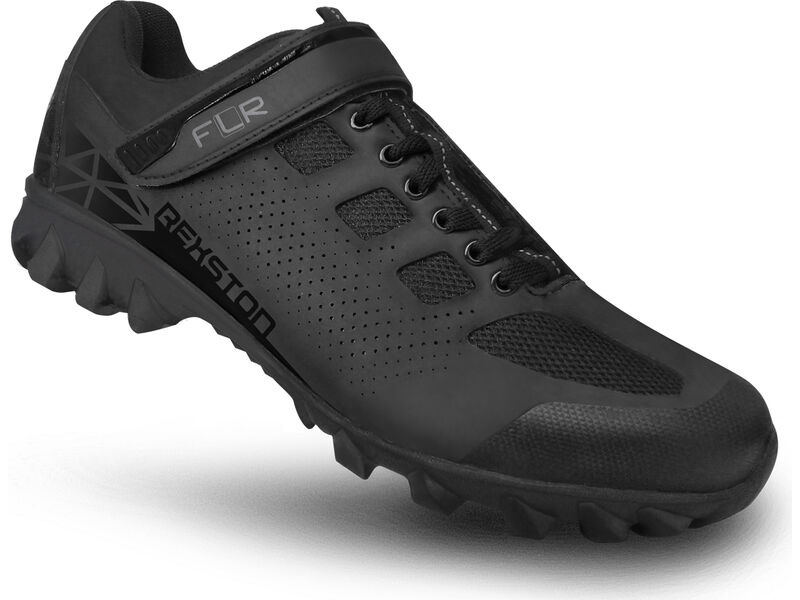 FLR Rexston Active Touring/Trail Shoe in Black click to zoom image