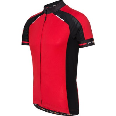 Funkier Stream Gents Short Sleeve Active Jersey in Red