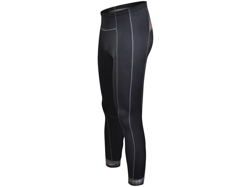 Funkier Polar Active Thermal Microfleece Full Length Tights in Black (S-302-W-B14) click to zoom image