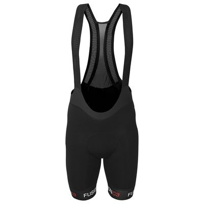 Fusion MENS C3+ BIB SHORTS BLACK