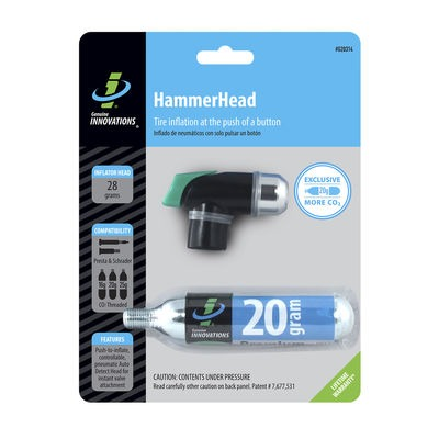 Genuine Innovations Hammerhead CO2 Inflator