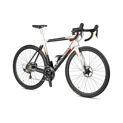 Colnago E64 Disc Complete Ebike Ultegra DI2 Black, White, Orange
