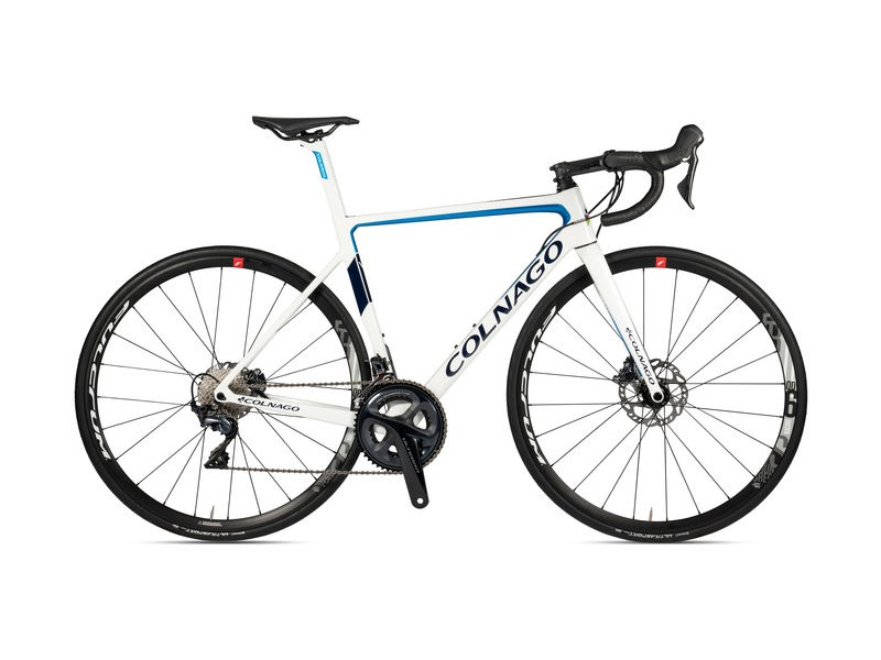 Colnago V3 Disc 2020 Complete Bike MKWH White Blue click to zoom image