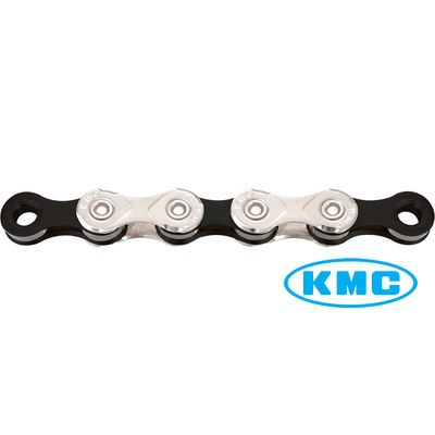 KMC X10 10 Speed Chain in Silver/Black