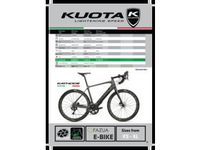 Kuota Kathode Diamante Nero E -Bike 105 click to zoom image