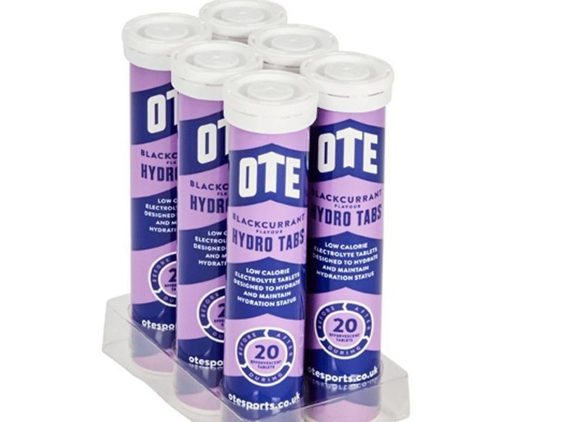 OTE Hydro Tabs 20 X 4g (1 Tube) Blackcurrant click to zoom image