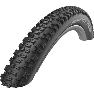 Schwalbe Rapid Rob Active Line All Terrain Tyre in Black 27.5X2.25 27.5 x 2.25""