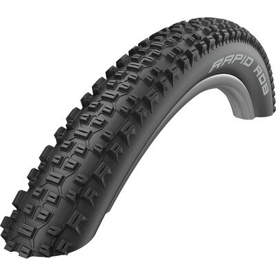 Schwalbe Rapid Rob Active Line All Terrain Tyre in Black 27.5X2.10 27.5 x 2.10""