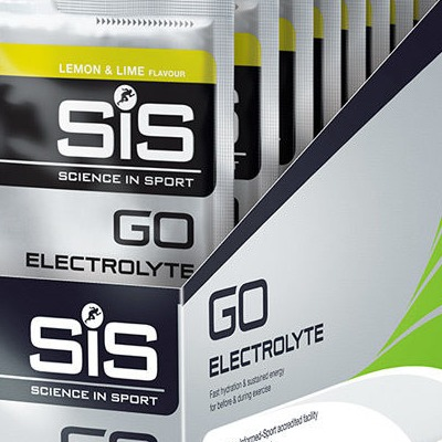 Science In Sport Go Electrolyte lemon and lime 40g