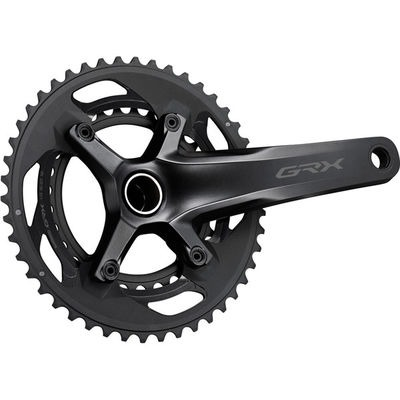 Shimano FC-RX600 GRX chainset 46 / 30, double, 11-speed, 2 piece design, 175 mm