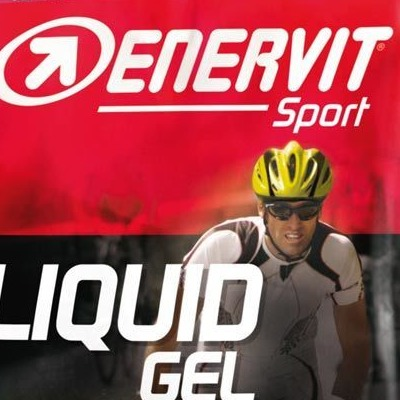 Enervit Liquid Gel Comp Black Cherry 60ml with Caffeine