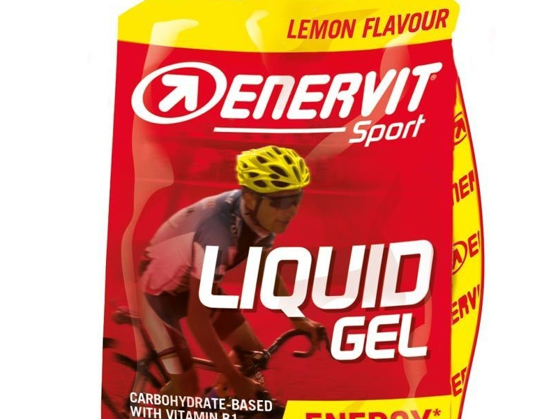 Enervit Liquid Gel Comp Lemon 60ml with Caffeine click to zoom image