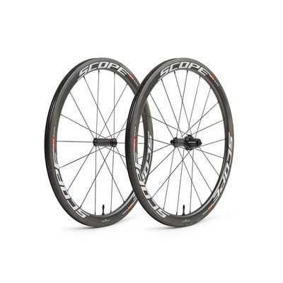 Scope R4c Wheel Set White Decals Shimano