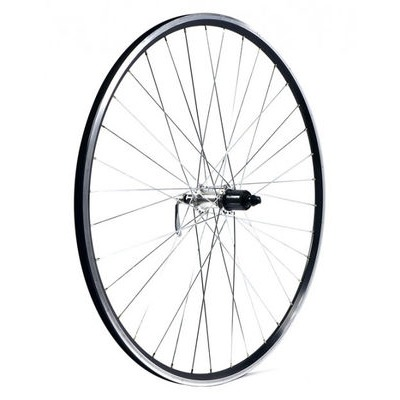 KX Road 700C Doublewall Q/R Cassette Wheel Rim Brake (Rear) Silver