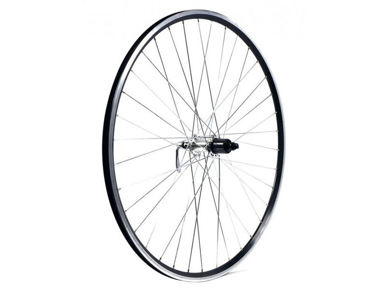 KX Road 700C Doublewall Q/R Cassette Wheel Rim Brake (Rear) Silver click to zoom image