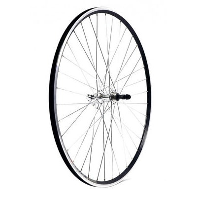 KX Road 700C Doublewall Q/R Screw On Wheel Rim Brake (Rear) Black