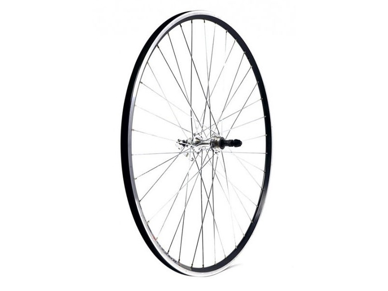 KX Road 700C Doublewall Q/R Screw On Wheel Rim Brake (Rear) Silver click to zoom image