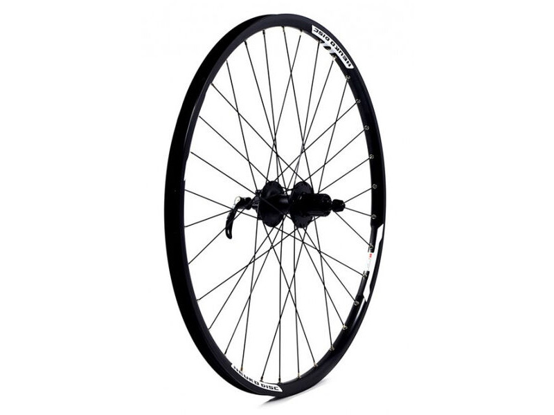 "KX MTB 27.5"" 650B Doublewall Q/R Cassette Wheel Disc Brake in Black (Rear) click to zoom image"
