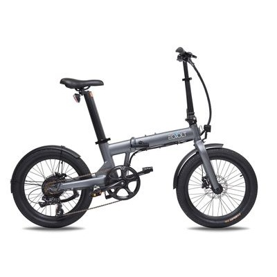 "Eovolt Confort 20"" Lightweight Folding Electric Bike"