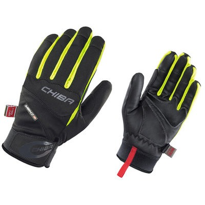 Chiba Tour Plus Windstopper Glove Black/Neon Yellow