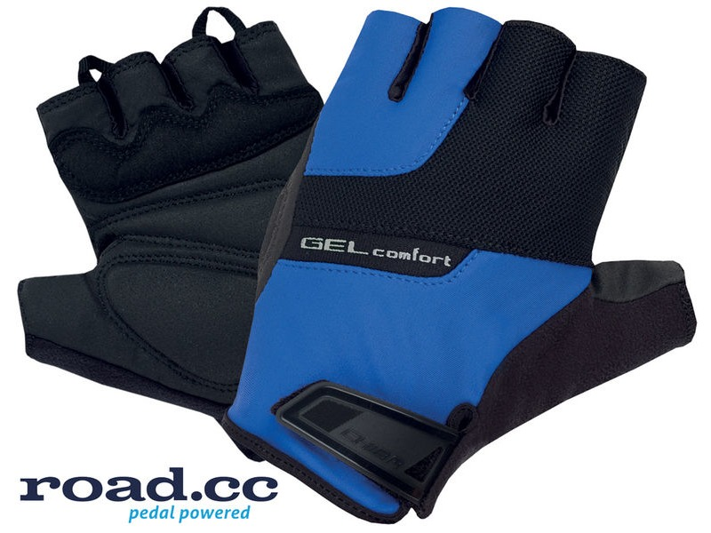 Chiba Gel Comfort Active Eco-Line Mitt Blue/Black click to zoom image
