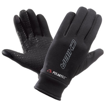 Chiba Polartec Fleece Glove in Black