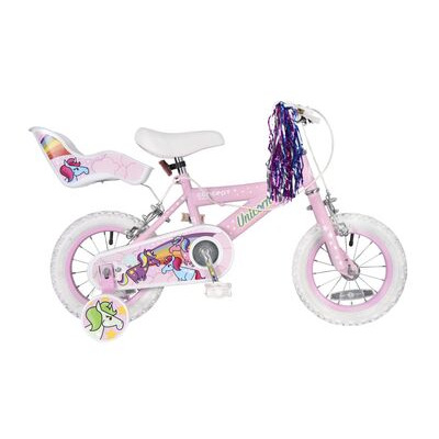 "Concept Unicorn 12"" Wheel Girls Bike"