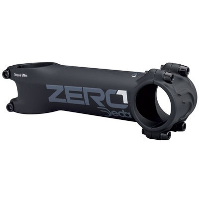 Deda Zero1 Stem 31.7mm in Black-on-Black
